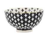 General Eclectic Cross Dip Bowl - Black