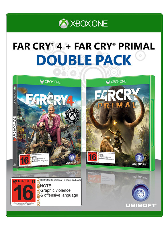 Far Cry 4 + Far Cry Primal Compilation for Xbox One