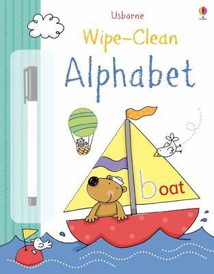 Wipe-Clean Alphabet by Felicity Brooks image
