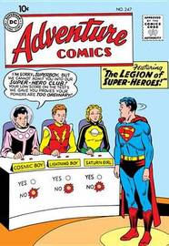 Legion of Super Heroes by Otto Binder image