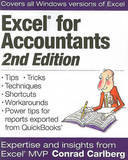 Excel for Accountants by Conrad George Carlberg