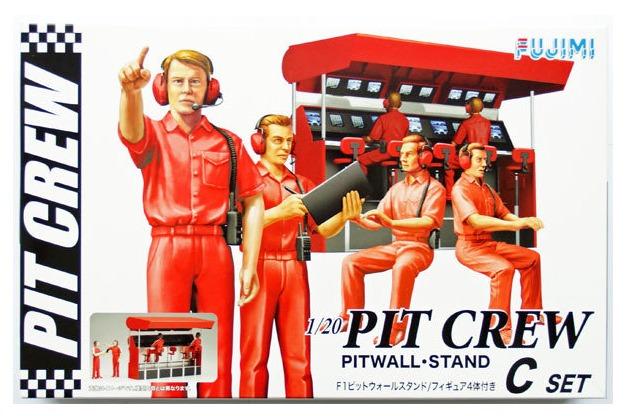 Fujimi: 1/20 F1 Pitwall Stand - Model Kit