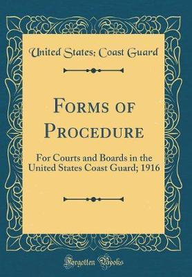 Forms of Procedure by United States Coast Guard