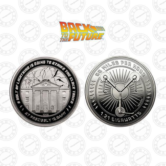 Back to the Future: Collectible Coin - Clock Tower (Silver Edition)