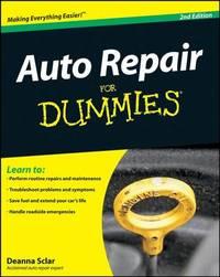 Auto Repair For Dummies by Deanna Sclar