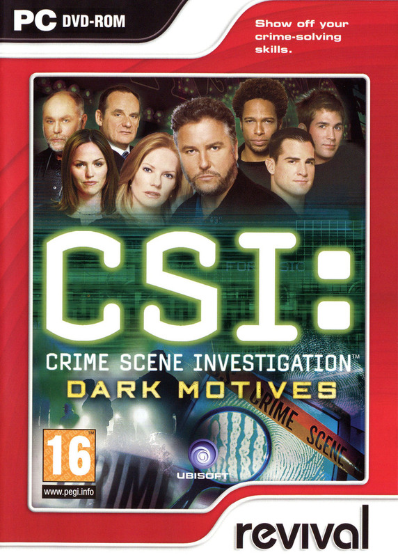 CSI: Dark Motives for PC Games