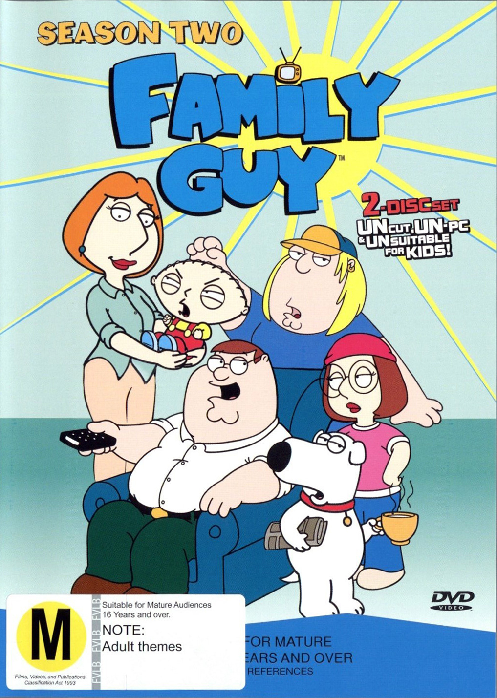 Family Guy - Season 2 (2 Disc Set) on DVD image