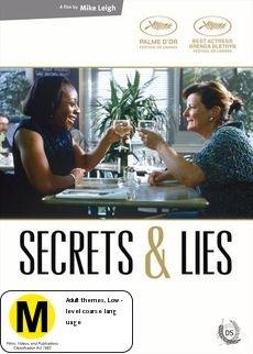 Secrets & Lies on DVD image