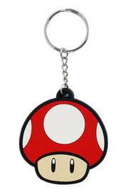 Super Mushroom Nintendo Rubber Keyring