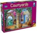 Holdson: 500pce Puzzles - Courtyards A Glimpse Of Tuscany