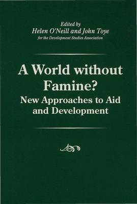 A World without Famine? image