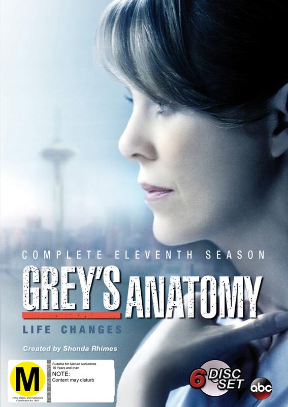 Grey's Anatomy - The Complete Eleventh Season on DVD