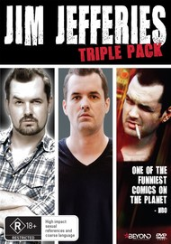 Jim Jefferies Triple Pack on DVD