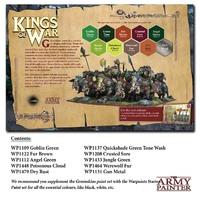 Army Painter Warpaints Kings of War Greenskins Paint Set image
