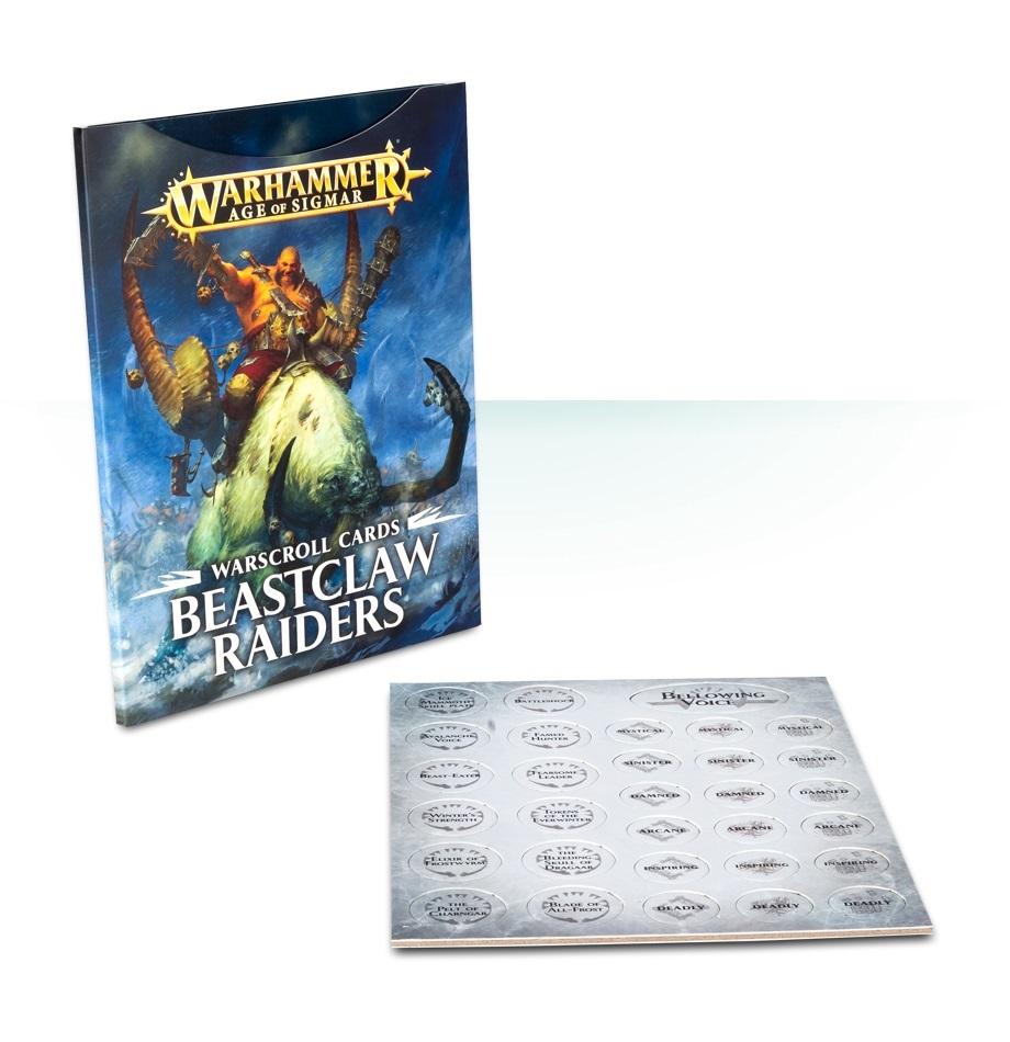 Warhammer Age of Sigmar: Warscrolls - Beastclaw Raiders image