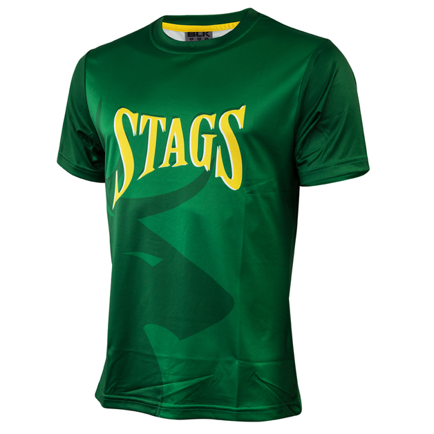 Central Stags Youth Performance Tee (Size 16)