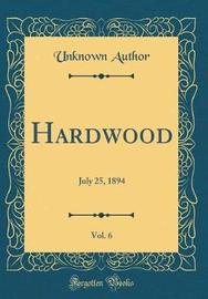 Hardwood, Vol. 6 by Unknown Author image