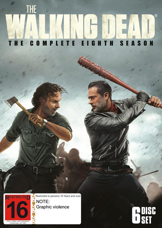 The Walking Dead: Season 8 on DVD