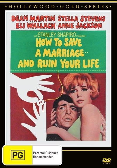 How To Save A Marriage And Ruin Your Life on DVD