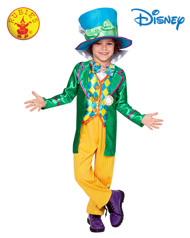 Mad Hatter Boys Deluxe Costume - Size 3-5