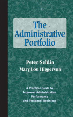 The Administrative Portfolio by Peter Seldin image