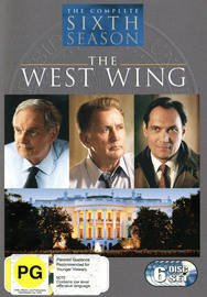 The West Wing - Complete Sixth Season (6 Disc Set) on DVD image