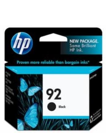 HP 92 Inkjet Cartridge C9362WA (Black) image