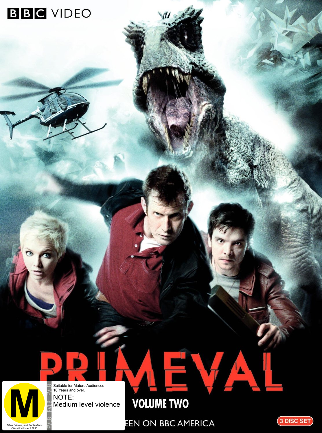 Primeval - The Complete Series 2 (2 Disc Set) on DVD image