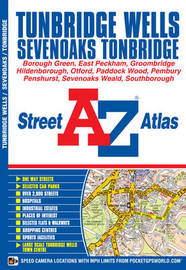 Tunbridge Wells Street Atlas by Geographers A-Z Map Company