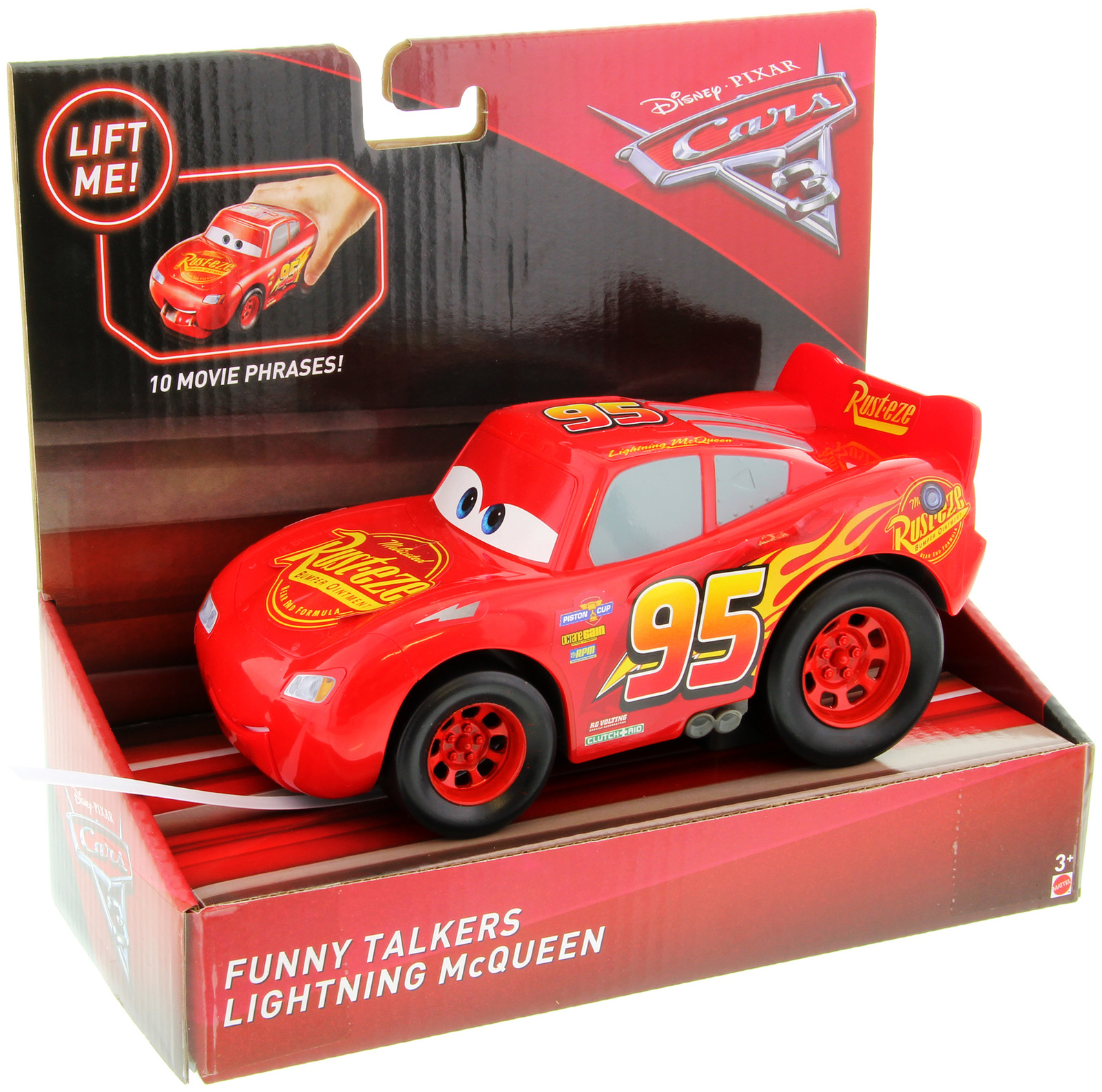 Cars 3 Funny Talkers Lightning Mcqueen Toy At Mighty Ape