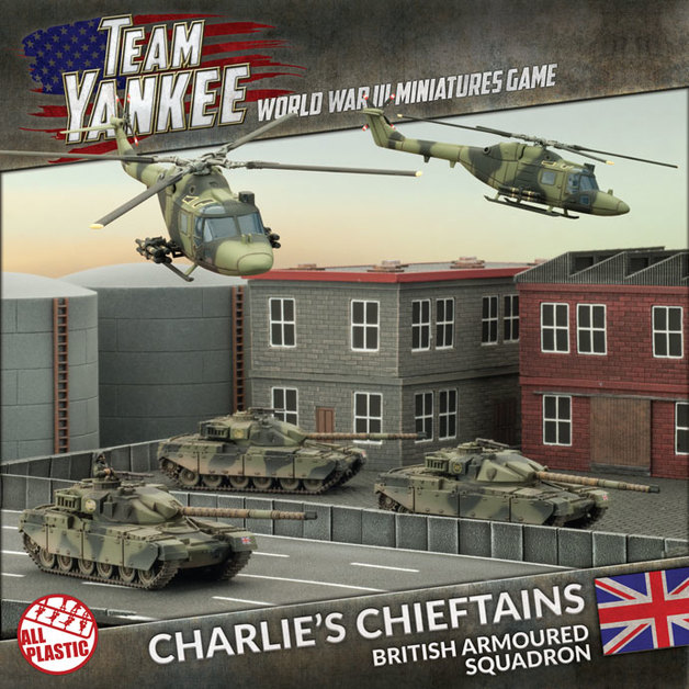 Team Yankee: Charlie's Chieftains British Armoured Squadron (Version 2)