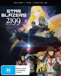 Star Blazers: Space Battleship Yamato 2199 Part 2 (eps 14-26) on DVD, Blu-ray