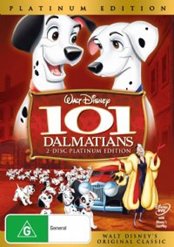 101 Dalmatians (1961) - Platinum Edition (2 Disc Set) on DVD