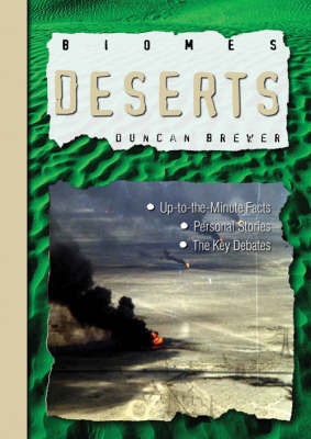 Deserts by Duncan Brewer