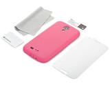 Simplism Silicone Case for Galaxy S4 (Pink)
