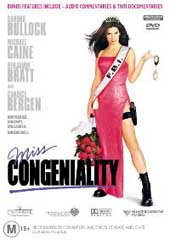 Miss Congeniality on DVD