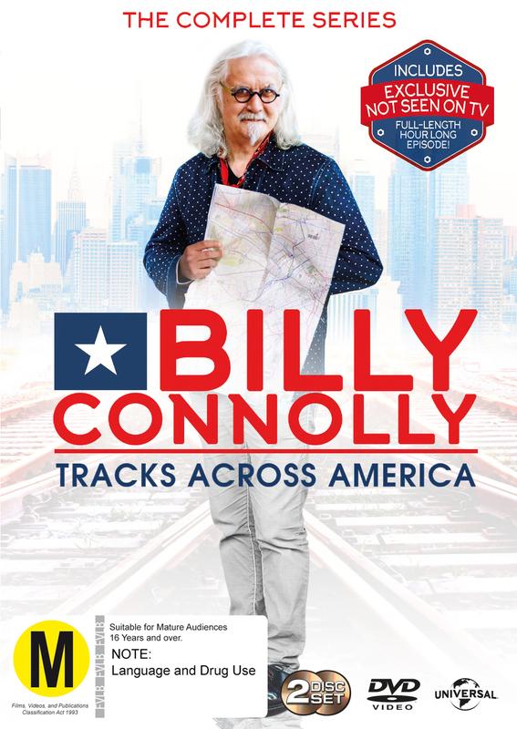 Billy Connolly - Tracks Across America on DVD