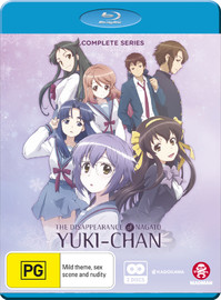 The Disappearance Of Nagato Yuki-chan : Complete Series on Blu-ray