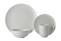 Maxwell & Williams: White Basics Luxurious Coupe Dinner Set (16 Piece) Gift Boxed