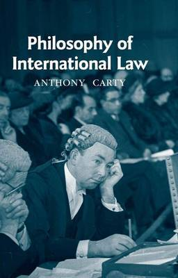 Philosophy of International Law by Anthony Carty image