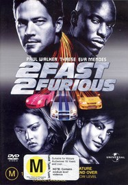 2 Fast 2 Furious on DVD image