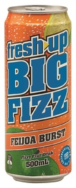 Fresh Up Big Fizz Feijoa Burst 500ml (12 Pack) image