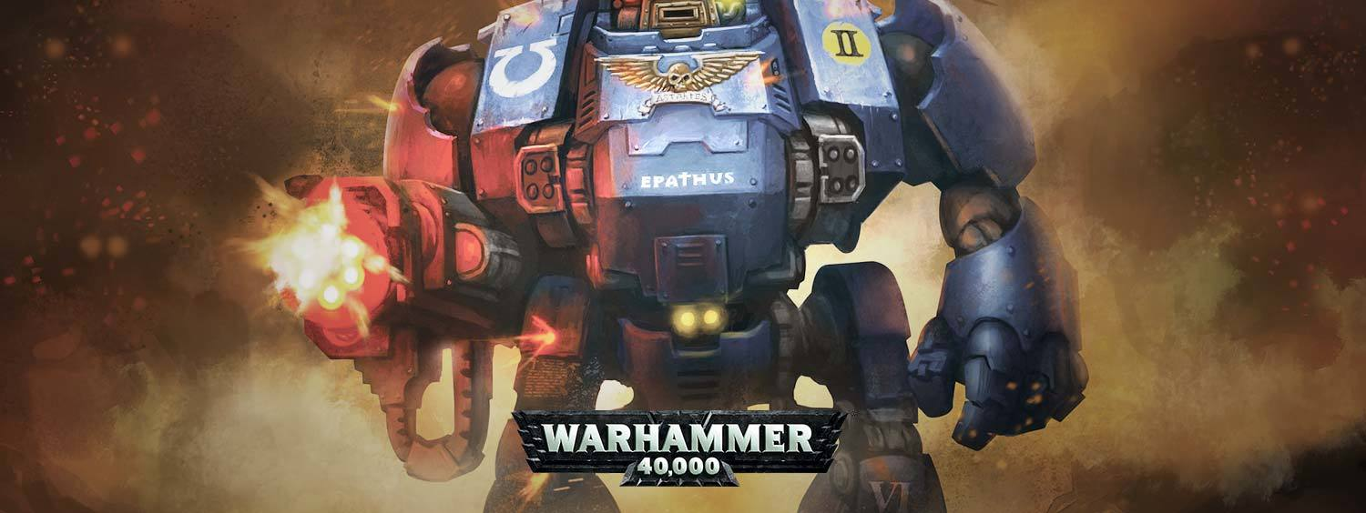 Warhammer 40,000: Easy to Build - Space Marines Primaris Redemptor Dreadnought image