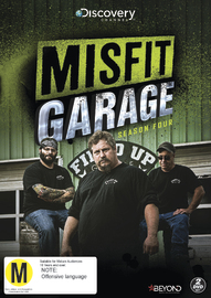 Misfit Garage - Season Four on DVD