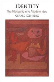 Identity by Gerald N Izenberg