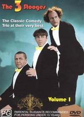 Three Stooges - Vol. 1 (Magna) on DVD