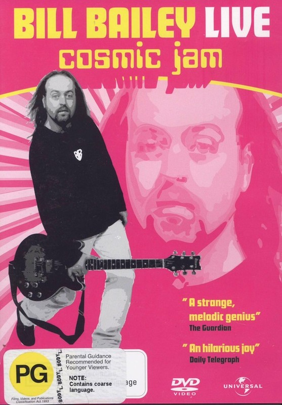 Bill Bailey Live - Cosmic Jam on DVD