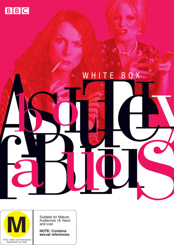 Absolutely Fabulous - White Box on DVD