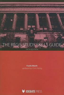 The Regis Study Skills Guide by Frank Walsh