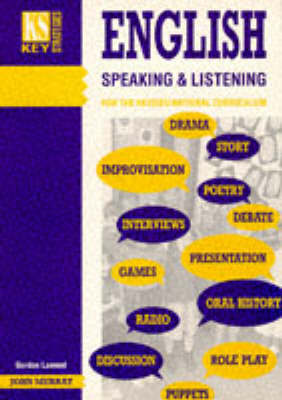English: Speaking and Listening by Gordon Lamont